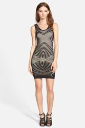 Whitney Eve 'Pearl Flower' Body Con Dress Juniors Black