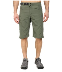 Adidas Outdoor Hiking Hike Bermuda Base Green Men's Shorts Olive