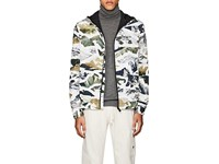 Aztech Mountain Men's Electric Pass Packable Hoody Jacket White Brown