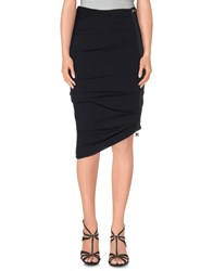 Elisabetta Franchi 24 Ore Skirts Knee Length Skirts Women Black