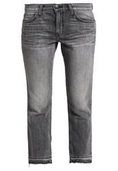 Current Elliott Straight Leg Jeans Grey Denim