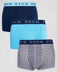 Thomas Pink 3 Pack Trunk Blue