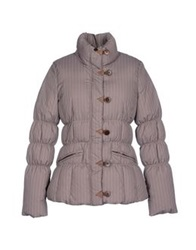 Tommy Hilfiger Down Jackets Cocoa
