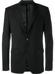 Givenchy Single Breasted Suit Jacket Black