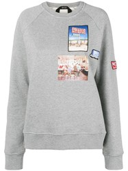 N 21 No21 Long Sleeve Sweatshirt Grey