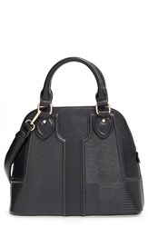 Sole Society Dome Satchel Black