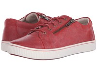 Born Tamara Kiss Waxed Suede Women's Maryjane Shoes Red