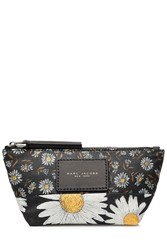 Marc Jacobs Fabric B.Y.O.T. Mixed Daisy Pouch Multicolor