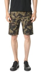 Obey Lagger Patch Pocket Shorts Camo