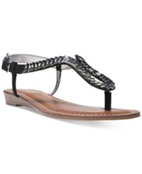 Carlos By Carlos Santana Ghita Thong Sandals Women's Shoes Black