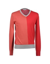 Carven V Necks Coral