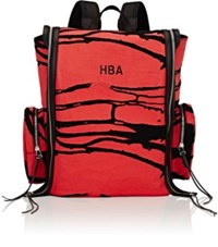 Hood By Air Men's Oversized Flap Backpack Red