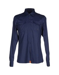 Dekker Shirts Shirts Men Dark Blue