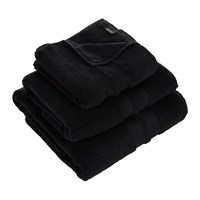 Amara Super Soft Cotton Towel Black Bath Sheet