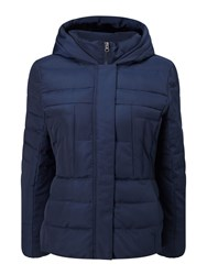 Precis Petite Quilted Jacket Navy