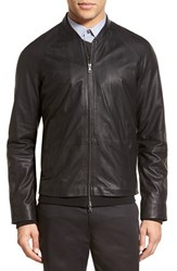 Men's Vince Perforated Leather Jacket