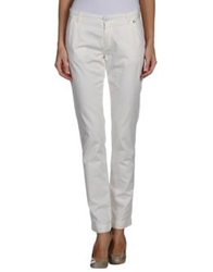Pepe Jeans Casual Pants Ivory
