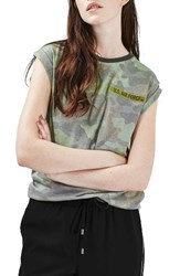 Topshop Women's By Tee And Cake Air Force Tee