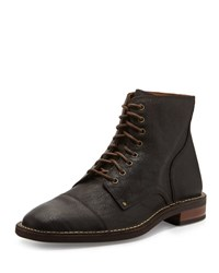 Cole Haan Canton Cap Toe Leather Boot Chestnut