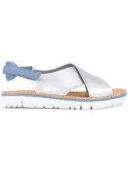 Camper Crossover Sandals Grey