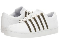 K Swiss The Classic White Dark Olive Men's Tennis Shoes Green