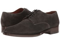 Frye Westley Oxford Charcoal Soft Oiled Suede Men's Shoes Black