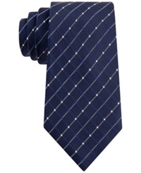 Geoffrey Beene City Grid Tie Navy