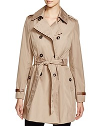 Via Spiga Lightweight Trench Coat Sand