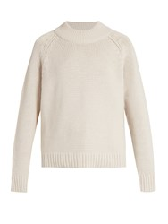 The Row Sephin Cashmere Sweater Light Beige