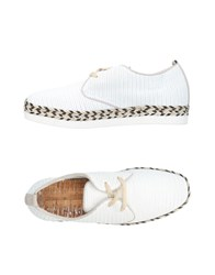 Mjus Lace Up Shoes White