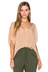 Sam And Lavi Lynn Top Beige