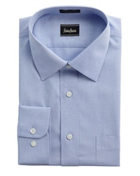 Neiman Marcus Non Iron Dress Shirt Blue