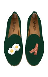 Del Toro M'o Exclusive Bacon And Eggs Slipper Green