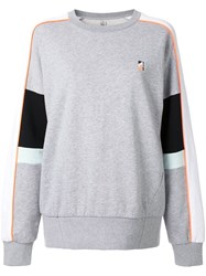 P.E Nation Logo Sweatshirt Grey