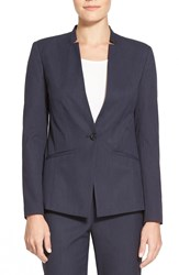 Halogen Notch Neck Suit Jacket Regular And Petite