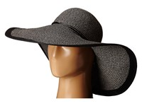 Echo Metallic Floppy Hat Black Traditional Hats