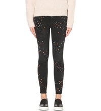 Closed Skinny Pusher Skinny High Rise Jeans Black