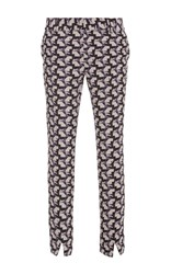 Bally Printed High Waist Ankle Pant