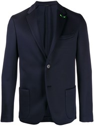 Fendi Slim Fit Blazer Blue
