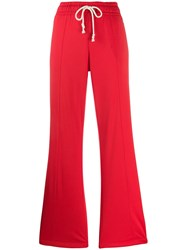 Champion Flare Track Pants Red