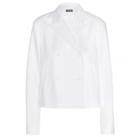 Jil Sander Cropped Cotton Blazer