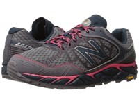 New Balance Leadville V3 Grey Pink Women's Running Shoes Gray