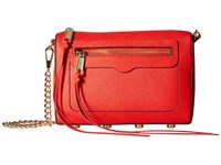 Rebecca Minkoff Avery Crossbody Poppy Red Cross Body Handbags