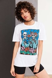 Truly Madly Deeply Skeleton Love Tee White