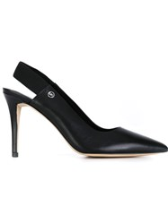 Michael Michael Kors Slingback Stiletto Pumps Black
