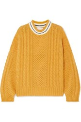 The Great Cable Knitted Sweater Yellow