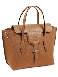 Tod's Small Grained Leather Joy Bag Brick