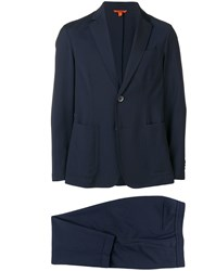 Barena Two Piece Suit Blue