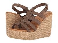 Volcom High Society Brown Women's Wedge Shoes