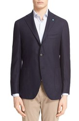 Men's Eidos Napoli Raw Silk Blazer